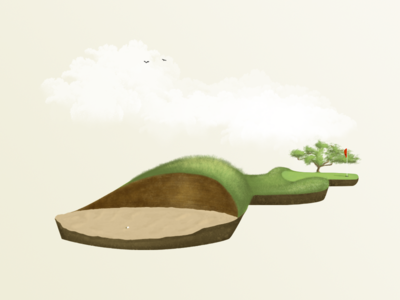 Floating Golf - Pothole Bunker