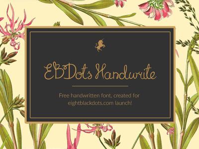 Freebie Handwrite Font