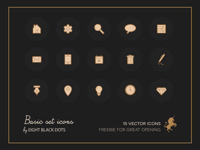 Icons Basic Freebie