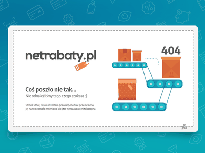 Netrabaty website - 404 page ebdots eight black dots netrabaty coupons page 404 error website