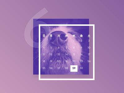 Duotone Calendar htmlcss calendar duotone