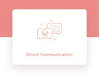 Wedding234 Feature Icon - Direct Communication