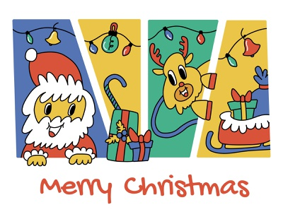 Merry Christmas 🎄 merrychristmas illustration