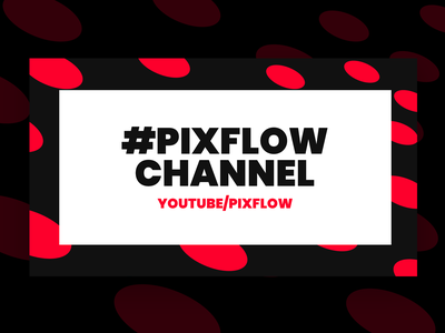 YouTube Channel intro social hashtag youtube channel youtube banner youtube logo youtuber youtube channels channel icon website banner branding pixflow modern design banner header infinity tool title typography