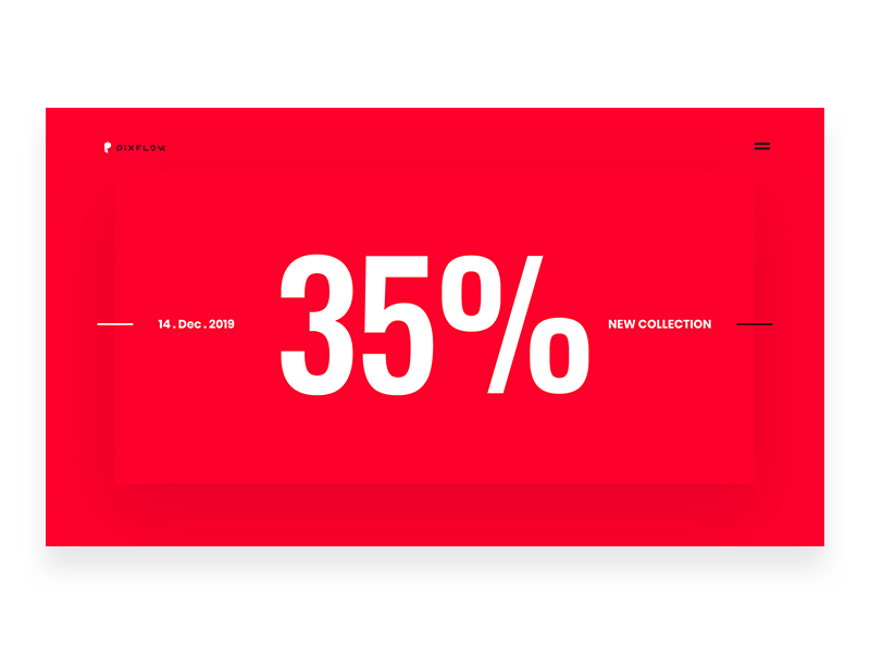 Website Banner season sale percentage number off sale title web design web website banner banner pixflow app ux modern design ui infinity tool