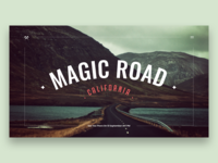 Magic Road Web Banner
