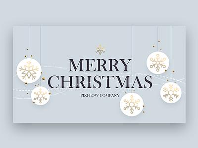 Merry Christmas christmas flyer christmas party christmas jingle bells xmas holidays golden merry xmas merrychristmas header snowflake logo typography banner title