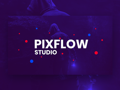 Pixflow Studio socials logo reveal youtube logo intro youtube banner channels youtube channel youtube channel website banner logo branding app pixflow modern design header infinity tool banner typography title