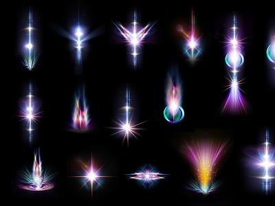 Mystical Light Effects ux vector logo motion graphics 3d animation ui icon illustrator graphic design design illustration branding