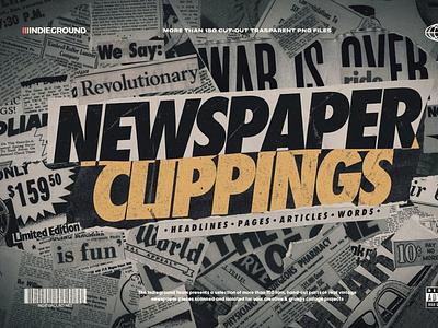 Newspaper Clippings ux vector logo motion graphics 3d animation ui icon illustrator graphic design design illustration branding