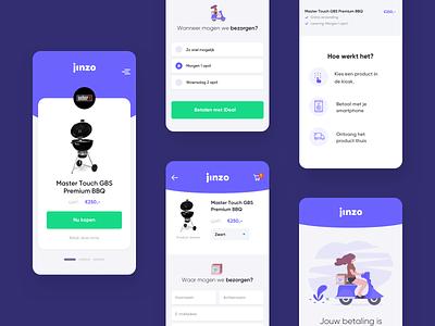 Mobile concept app design app clean typography ux mobile focus simple website ui design
