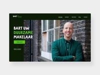 Homepage for a Real Estate Agent webdesign web hero banner hero image header website branding