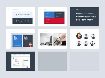 Brandpreventiewinkel identity identity branding brandbook logo branding identity