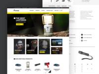 E-commerce project in progress
