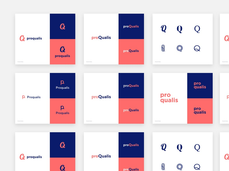 New branding proposal by Bob van den Broeck on Dribbble