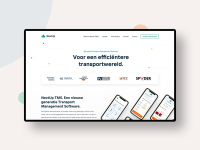 Webproject for software company
