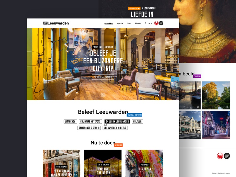Visit Leeuwarden - Final version city guide trips todo agenda homepage visitors tickets website city design