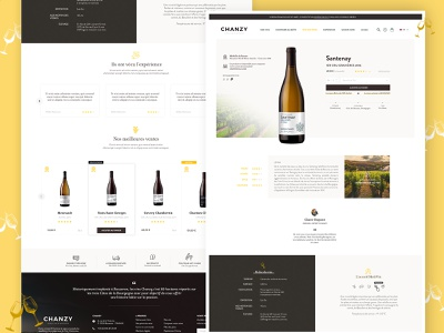 Design Chanzy - page produits