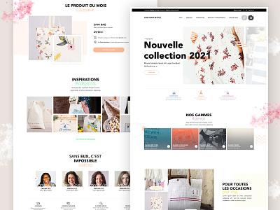 Design Indispensac - page accueil