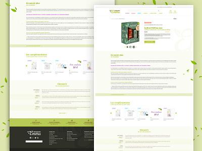 Design les Tendances d'Emma - page produits
