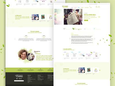 Design les Tendances d'Emma - page accueil