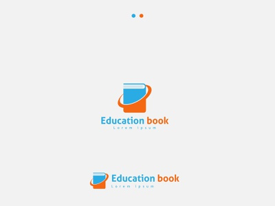 Education logo abstract technology educate template study symbol education sign school logo university book icon isolated library design vector business illustration open