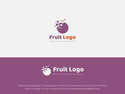 Cherry Fruit logo design fresh cherry food logo fruit organic health healthy nutrition berry abstract natural leaf design ecology