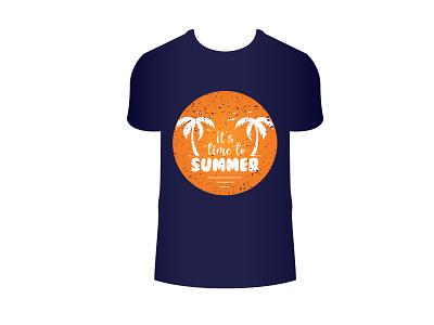 Summer t-shirt design summer typography fashion t shirt print t-shirt trendy sunrise texture grunge wear vector vacation