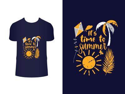 This is summer t-shirt design, typography t-shirt design flam tree kite summertime lettering design typography vintage fashion t-shirt t shirt summer