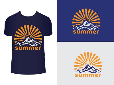 summer t shirt design vacation vector t-shirt tshirt sunrise fashion design graphic t shirt print summer grunge illustration summertime