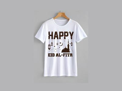 Eid al-Fitr T-shirt design fastival islamic design t-shirt t-shirt design eid mubarak happy holidays