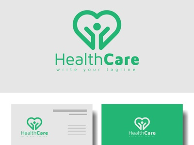 Health care medical logo design for your medical business care of health medical care happy care healthcare hospital cilnical medical logo medical