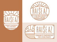 Raise Arizona Logo System