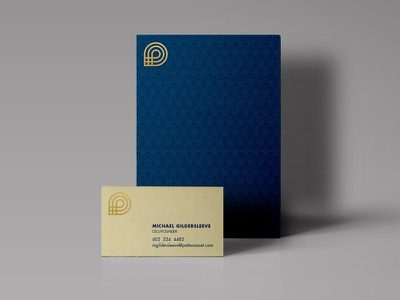 Collateral modern identity business card postcard collateral