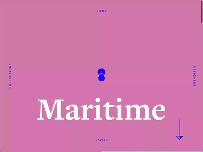 Maritime Clothing Home Page minimal ecommerce design ecommerce shop ecommerce clothing fashion uxui uxdesign website design motion modern ux ui