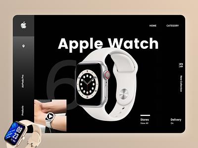 Online watches Web design shopping online new clean ui clean branding website web design ux ui
