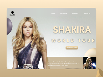 Celebrity Web typography online new clean ui clean website web design ux ui