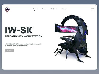 Workstation Web design shopping online new clean ui clean branding website web design ux ui