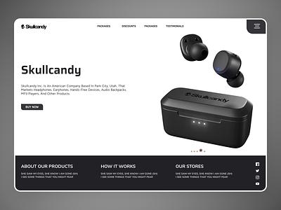 Air Pods Web new clean ui clean branding app website web design ux ui