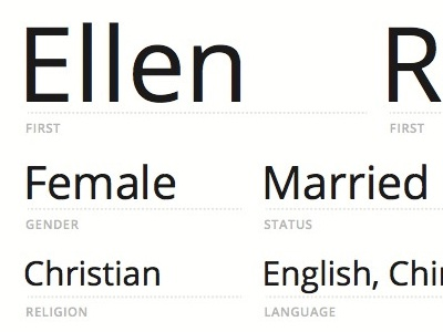 Demographic Info - EMR