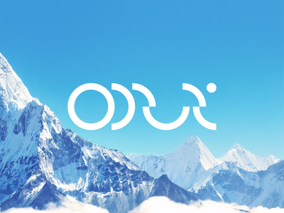 Nibiru. branding design mountains abstract lettering typogaphy experimental