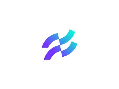 Reef Logo-mark gradient brand identity logomark visual identity identity design branding logo
