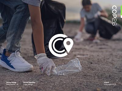 Local Action, Global Impact – COP26 Logo sustainability green enviroment climate change typography logotype jonny delap logo design visual identity branding design logo