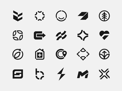 Logo Update–2021 visual brand icon monogram identity mark symbol design minimal branding logo