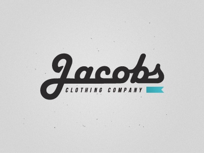 Jacobs Clothing Company Logo jacobs clothing company logo noise typography