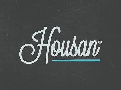 Housan Logotype logotype logo calligraphy design jonny delap delap texture logo design logos typography