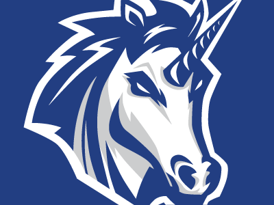 Dribbble unicorn