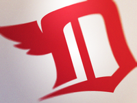 Detroit Red Wings D Logo