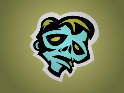 Pittsburgh Rotters logo zombie rotters pittsburgh fantasy sports