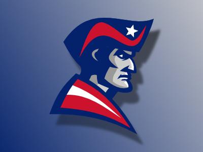 Patriot logo patriot logo vector sport flag star